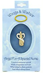 NURSE Wings & Wishes Angel Tac Pin