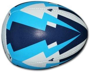 Socio desarrollo pase de Pelota de Rugby pelota: Amazon.es ...