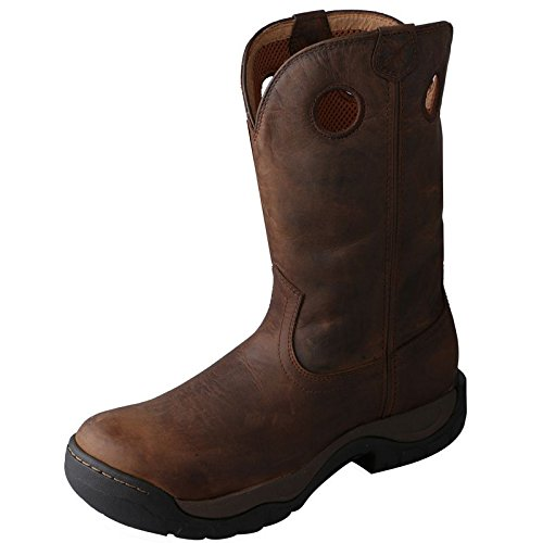 Twisted X Men's Taupe Waterproof All Around Cowboy Boot Round Toe Taupe 11 D(M) US