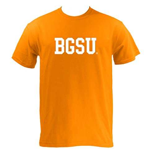 Block BGSU Bowling Green State University Basic T-Shirt - Medium - (Bowling Green University Basketball)