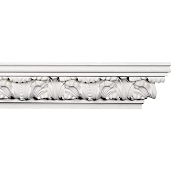 Crown Molding - Plastic Crown Moulding Manufactured with a Dense ...