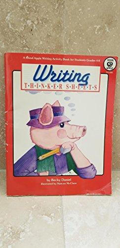 Writing Thinker Sheets