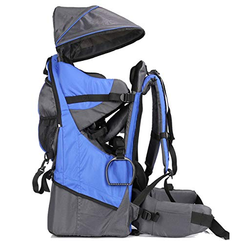 Child Carrier Backpack Lightweight Hiking Baby Sun Toddler Kid Packs Shade Visor
