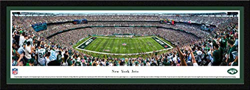 New York Jets - 50 Yard - Blakeway Panoramas NFL Posters with Select Frame