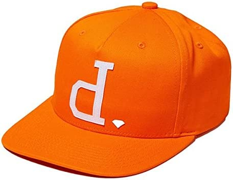 Diamond Supply Co gorro de un polo – Gorra ajustable, naranja ...