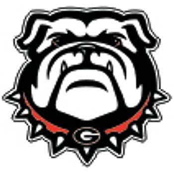 Amazon Com Georgia Bulldogs New Bulldog Decal 6
