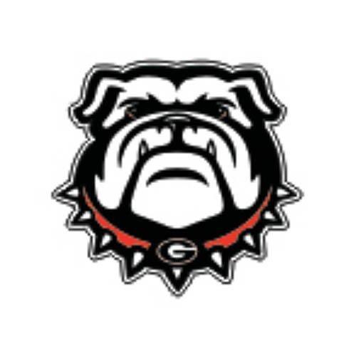 Georgia Bulldogs NEW Bulldog Decal - (Bulldogs Window Decal)