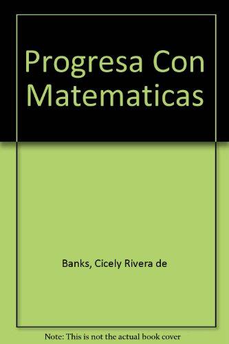 Progresa Con Matematicas Cicely Rivera de Banks
