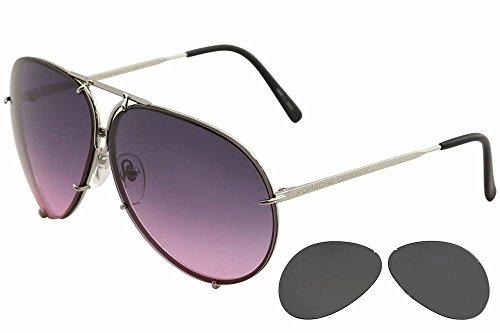 Porsche Design Sunglasses, Silver, - Porsche Designs Sunglasses