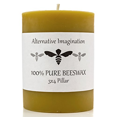 Alternative Imagination 100% Premium Beeswax Candle (3x4)
