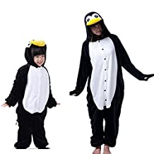 Adult Kid Family Matching One Piece Pajamas Cosplay Costumes