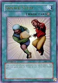 Yu-Gi-Oh! - Snatch Steal (MRL-036) - Magic Ruler - Unlimited Edition - Ultra Rare