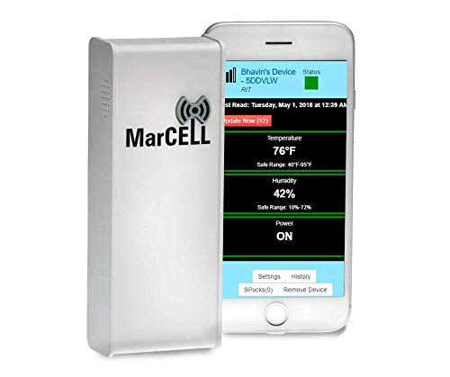 MarCELL MAR-500A Cellular Temperature Monitor
