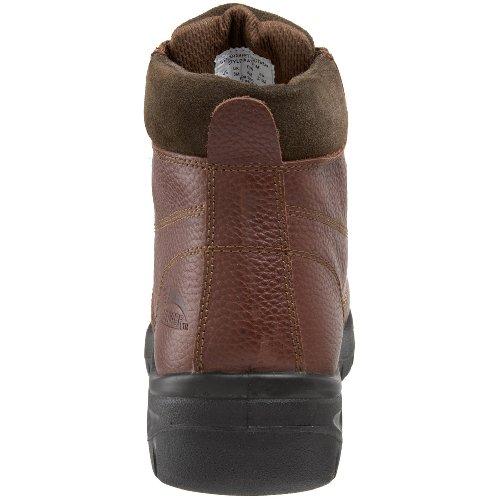 Scarpe Antinfortunistiche Per Uomo In Acciaio A7211 Marrone