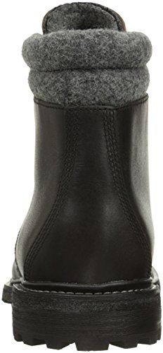Woolrich Menns Puritanske Banen Chukka Boot Vintage Svart / Askegrå