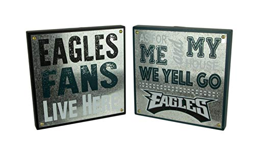 Maurice Sporting Goods NFL Philadelphia Eagles Football Fan and Go Eagles Wall Hangings