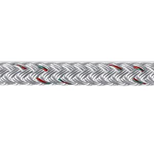 """Samson LST Yacht Braid Double Braided Polyester Rope 3/8"""" x 500' Blue Tracer: #SAM 450024805030"""