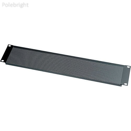 1u Blank Panel Set - VTF1-CP12 Contractor Pack of 1U Tight-Pattern Vented Blank Panels (12 Pieces) - Polebright update