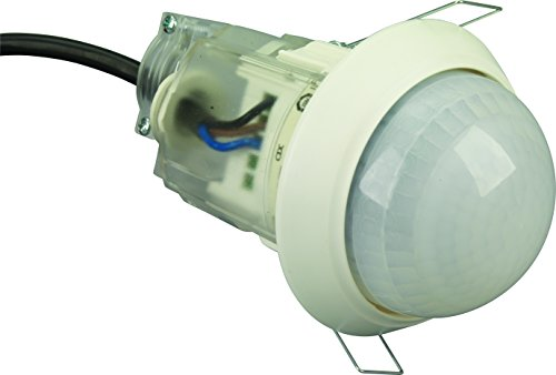 Ematic PMSCF20 20M Radius, 2 Channel Flush Ceiling Mount Occupancy Sensor...