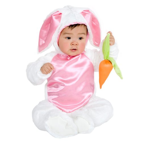 Bunny Costumes Alice In Wonderland (Charades Plush Bunny Costume, NA, Infant)