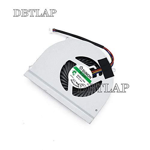 DBTLAP Laptop CPU Fan Compatible for Dell Latitude E6530 Laptop Fan Cooling MF60120V1-C450-G9A KSB05105HA BH05 C2