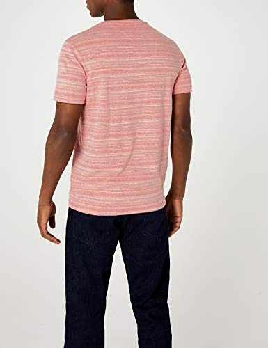 Basic Tommy Coupe shirt Manches Droite 683 Red Jeans Knit Courtes T Rose racing Homme 6rqrxE