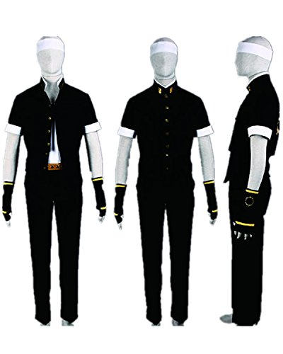 Snk Cosplay Costume (The King Of Fighters Cosplay Costume-KOF Kyo Kusanagi 2nd Ver 8Pcs Set)