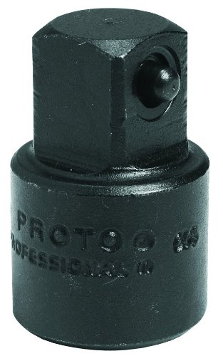 Stanley Proto J7650 Proto 3/8-Inch F x 1/2-Inch M Impact Drive Adapter (Proto Extension Impact)