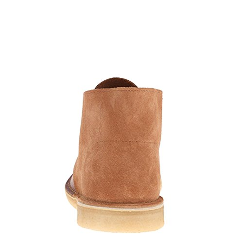 Clarks Mens Desert Boot Tan Combi 06086 (us8 (d))