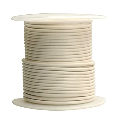 Coleman Cable 16-100-17 Primary Wire, 16-Gauge 100-Feet Bulk Spool ...
