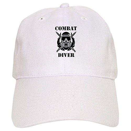 Diver Hat (CafePress - Combat Diver (3) - Baseball Cap with Adjustable Closure, Unique Printed Baseball Hat)