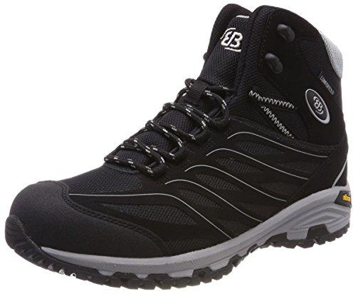 de Adulto Negro Senderismo Grau Zapatos Mount Unisex Bruetting Schwarz Rise Schwarz Grau Hayes High Bqgwat