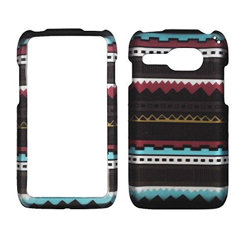 2D Black Tribal Kyocera Event C5133 Virgin Mobile Case Cover Hard Case Snap-on Cases Rubberized Touch Protector Faceplates