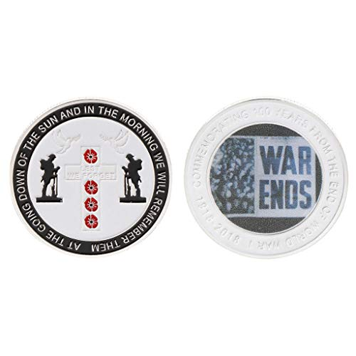 Gothing Commemorative Coin World War 100th Centennial Anniversary Souvenir Collection Pigeon Peace Coins Arts Gifts