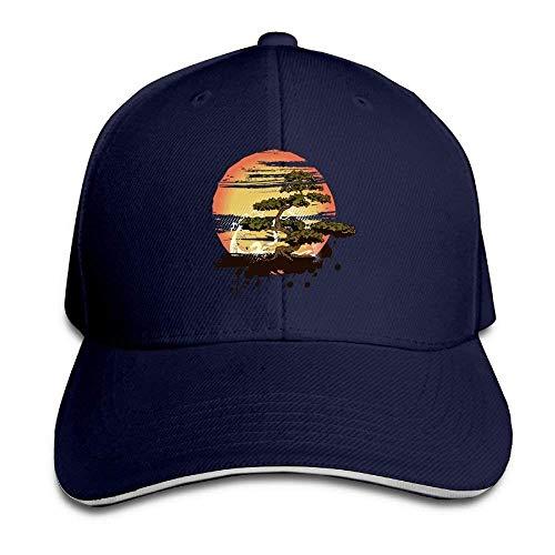 NDJHEH Gorras béisbol Sandwich Baseball Caps Unisex Adjustable Hat Bonsai Tree Karate Dojo