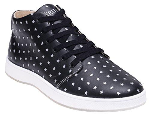 Mid Aureus Leather Full Cosmo Black Mens Shoe Grain Top wXqXP1ZA