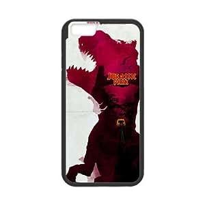 iPhone 6 Plus 5.5 Inch phone case Black Jurassic Park FFTR4272595