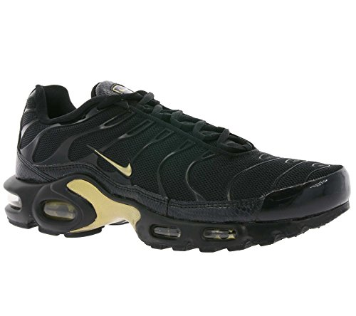 Nike Mænds Air Max Plus Gymnastiksko Sort (sort / Guld Mtlc 022) t2iNZb48