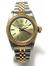 Oyster Perpetual swiss-automatic womens Watch 67193 (Certified Pre-owned)