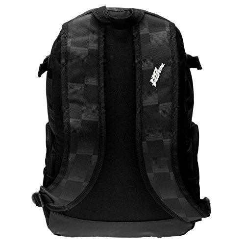 Kitbag Fear Nero Da charcoal Sportiva Borsa No antracite Black Check Ginnastica Zaino zq6wxpxZR