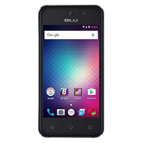 BLU Vivo 5 Mini V050Q Unlocked GSM Quad-Core Dual-SIM Phone - Gray (Certified Refurbished)