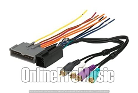 41kIuFraUeL._SX463_ amazon com absolute a16 5510 factory amp integration wiring Sony Car Stereo Wiring Harness at nearapp.co