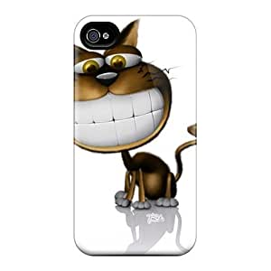 New Cute 3d Smiling Cat Cases Covers/ For HTC One M7 Case Covers
