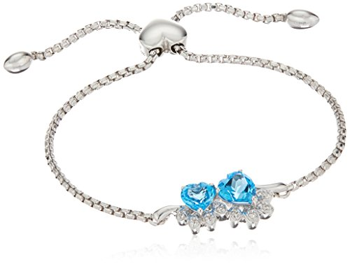 xpy-sterling-silver-heart-shaped-cat-paw-swiss-blue-topaz-with-white-topaz-accent-bolo-link-charm-br