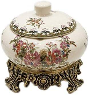 (:A、サイズ:15 * 16 * 16センチメートルカラー)スタイリッシュな灰皿セラミック灰皿クリエイティブヨーロッパのホーム防風カバー (Color : C, Size : 15*16*16cm)