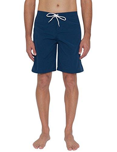 Tuga Men's Lifeguard Board Short, Navy, Small