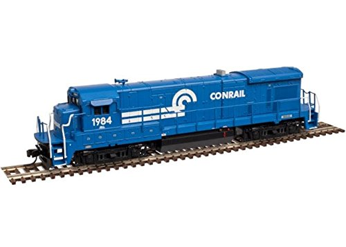 Low Locomotive Nose (Atlas N Scale GE B23-7 Low Nose Diesel Locomotive - Conrail/CR #1971 (With DCC))