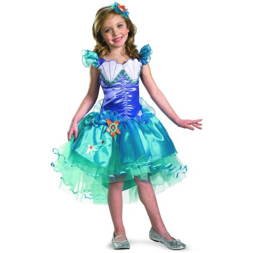 Ariel Tutu Prestige Child Costume - X-Small (Costume Prestige Ariel Child)