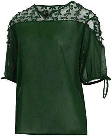 Costura Color de ContrasteTops Ronamick Hermoso Camisetas Mujer Verano Blusa Niña Manga Larga Hermoso Camisa Negra(Verde,XXXXL): Amazon.es: Bricolaje y herramientas