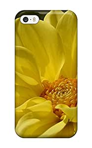 Iphone Snap On Hard Case Cover Yellow Flowers Protector For Iphone 5/5s